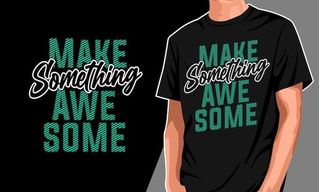 Mode stahl mein lächeln t-shirt design Premium Vektoren