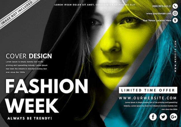 Modern fashion sale banner Premium Vektoren