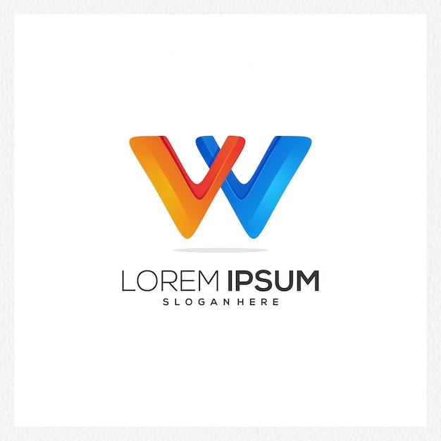 Moderne abstrakte logo- oder firmenzeichenschablone für markenidentität Premium Vektoren