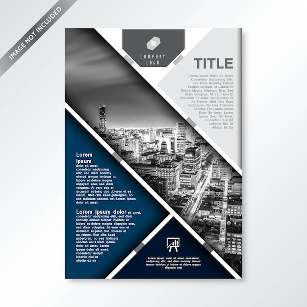 Moderne Business Company Deckblatt Download Der Premium Vektor