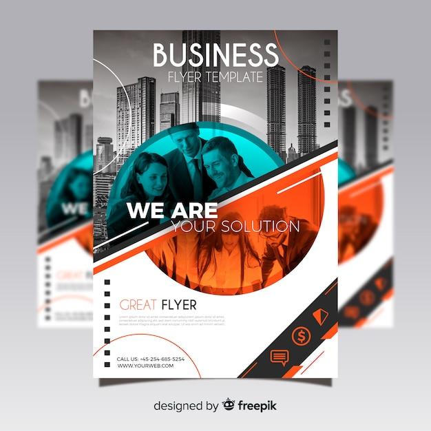 Moderne Business Flyer Vorlage Download Der Kostenlosen Vektor