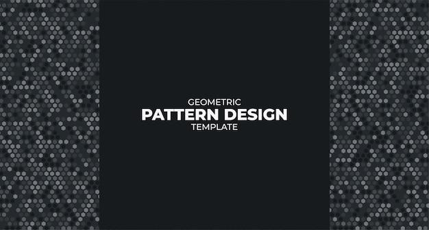 Moderne geometrische muster-entwurfsvorlage Kostenlosen Vektoren