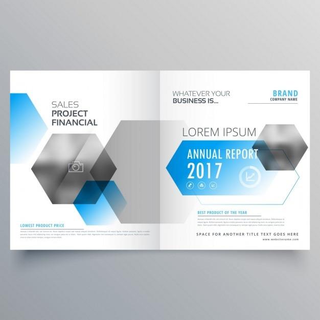 Moderne kreative Business-Deckblatt-Vorlage mit abstrakten ...