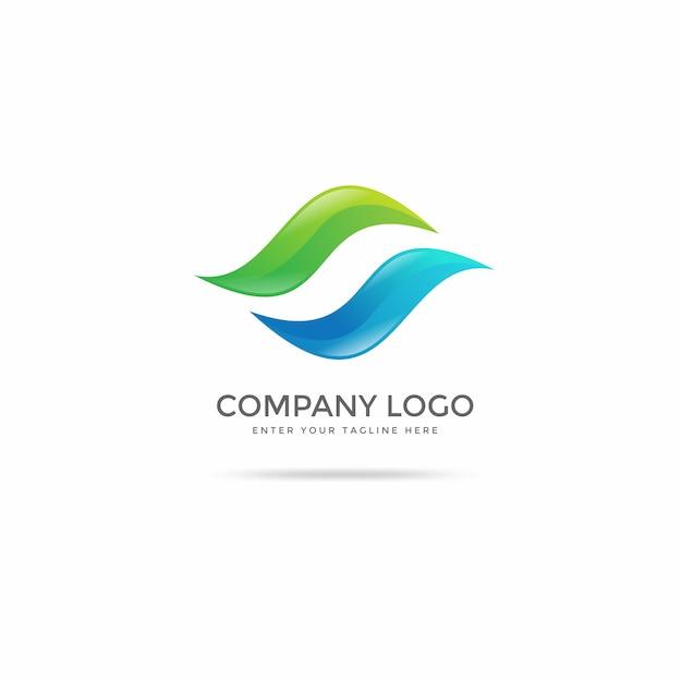 Moderne logo-design-vorlagen Premium Vektoren