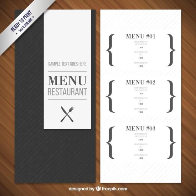 Erfreut Restaurant Menü Vorlagen Wort Bilder - Dokumentationsvorlage ...