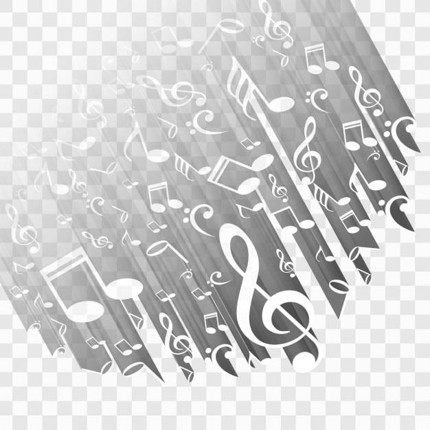 Moderne musik-hintergrund Kostenlosen Vektoren