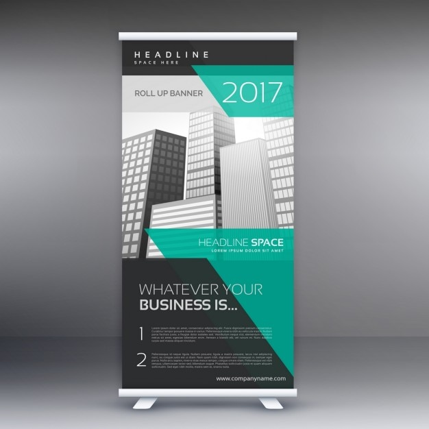 Moderne Werbung roll up display-Banner-Vorlage | Download der ...