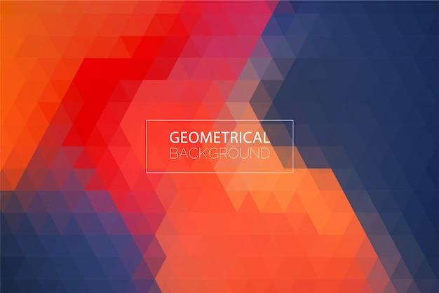 Moderner abstrakter geometrischer hintergrund Premium Vektoren