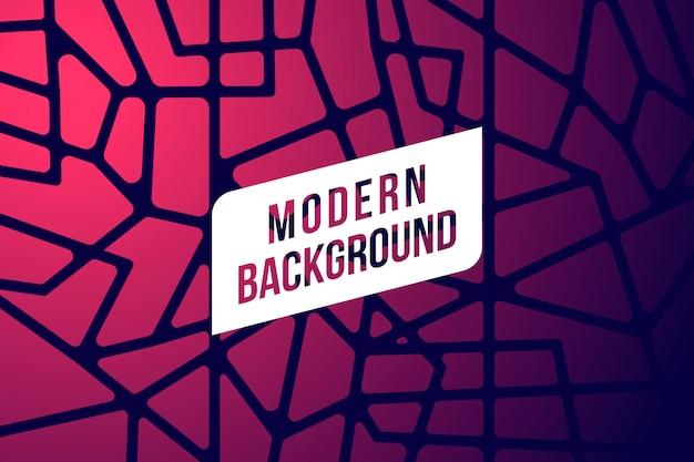 Moderner abstrakter hintergrund Kostenlosen Vektoren