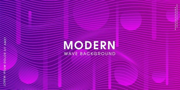 Moderner abstrakter kreativer purpurroter hintergrund Premium Vektoren