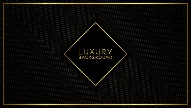 Moderner abstrakter luxusgoldhintergrund Premium Vektoren