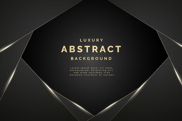 Moderner abstrakter luxushintergrund mit eleganten formen Kostenlosen Vektoren
