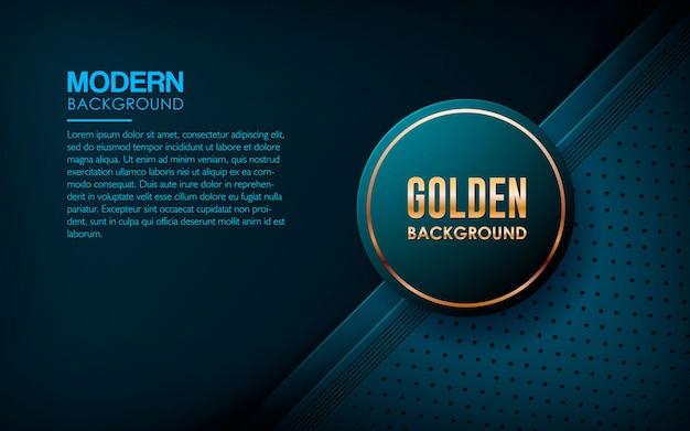 Moderner blauer strukturierter schichtüberlappungshintergrund Premium Vektoren