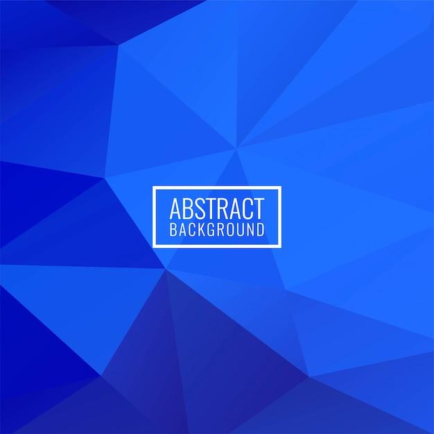 Moderner hintergrund des abstrakten geometrischen polygons Kostenlosen Vektoren