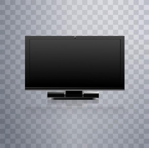 Fernseher Hintergrund moderner lcd-fernseher hintergrund | download der kostenlosen vektor