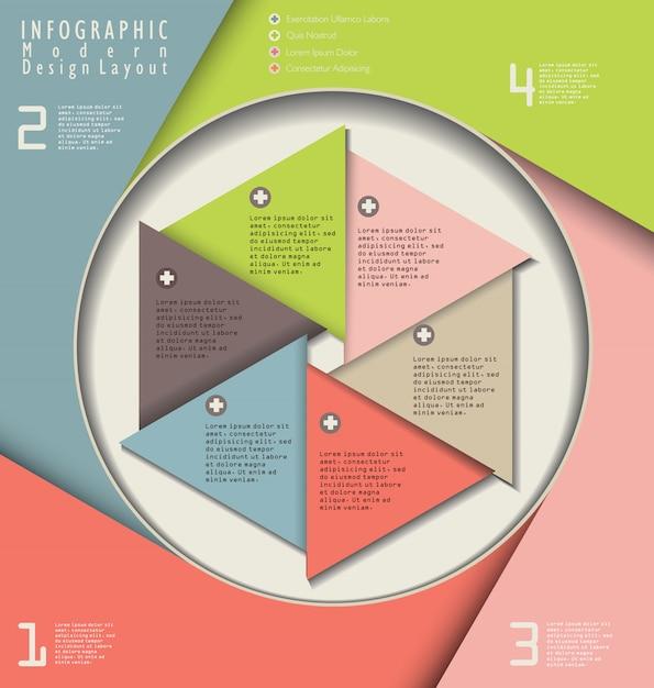 Modernes design-layout Premium Vektoren