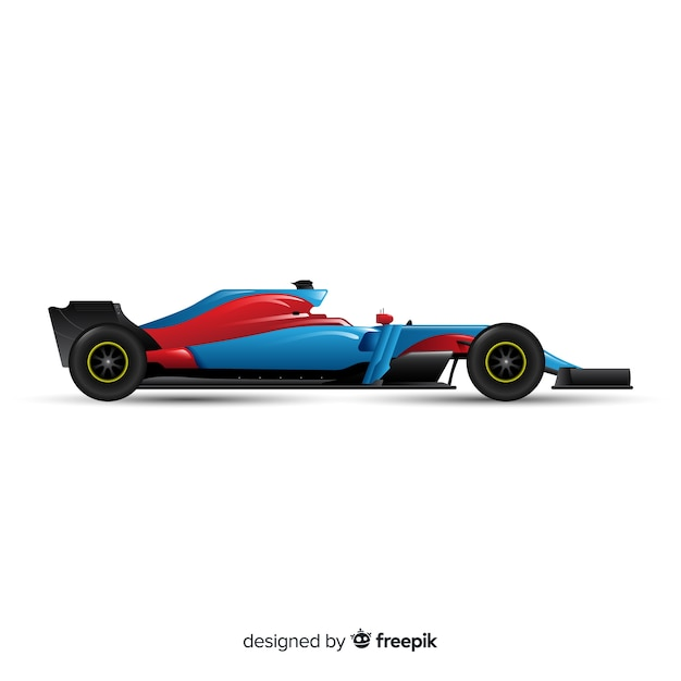 Modernes formel-1-rennwagen-design Kostenlosen Vektoren