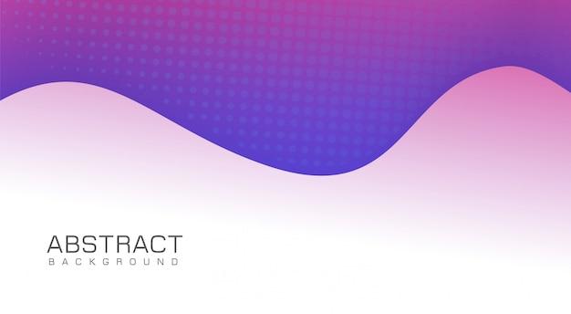 Modernes lila hintergrunddesign Premium Vektoren