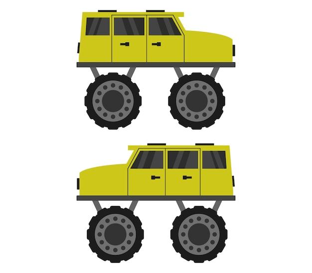 Monsterauto Premium Vektoren