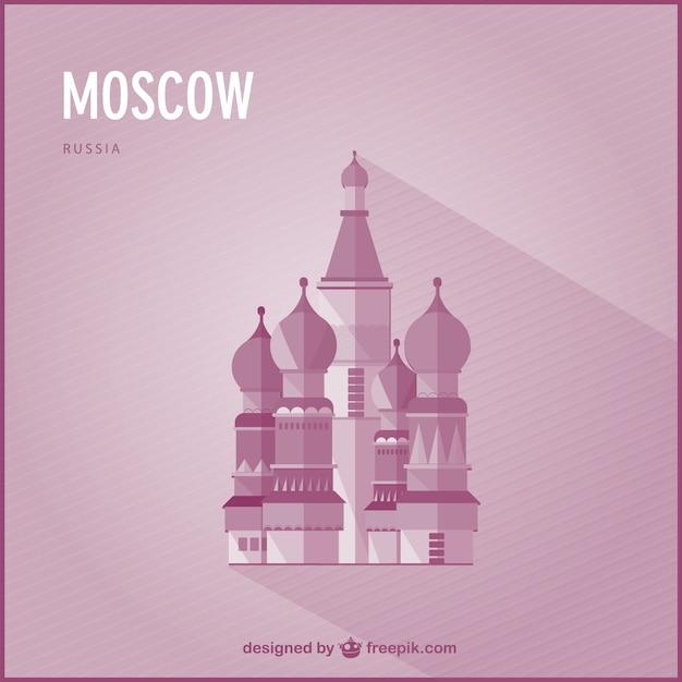 Moskau wahrzeichen vektor Kostenlosen Vektoren