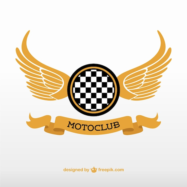 Motoclub logo vektor Kostenlosen Vektoren