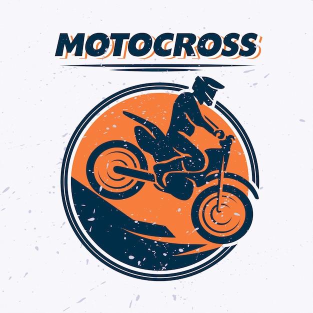 Motorradfahrerporträt. vektor flache illustration Premium Vektoren