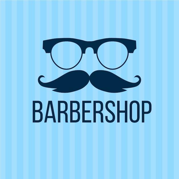 Movember-konzept im flachen design Kostenlosen Vektoren