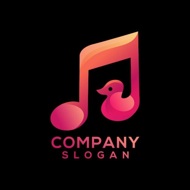 Musik-logo Premium Vektoren