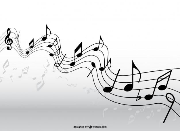 musik pentagramm vektor download der kostenlosen vektor