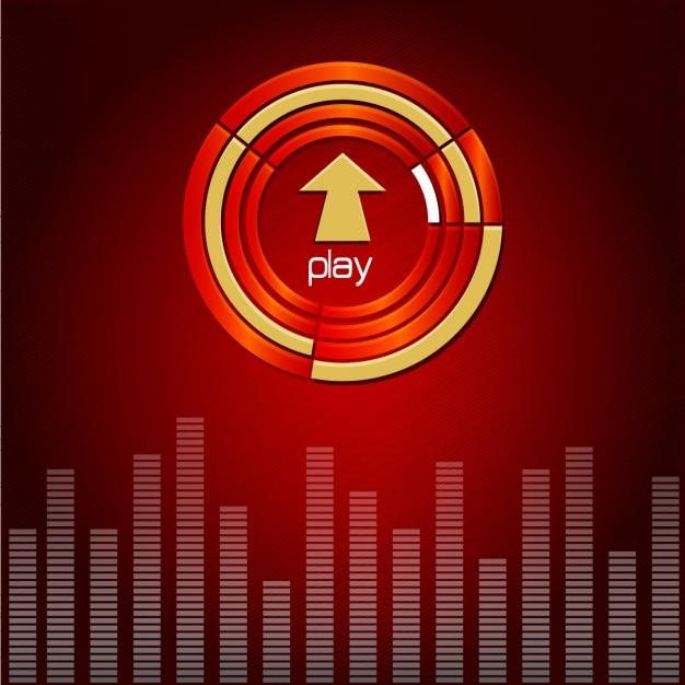 Musikalischen hintergrund Kostenlosen Vektoren