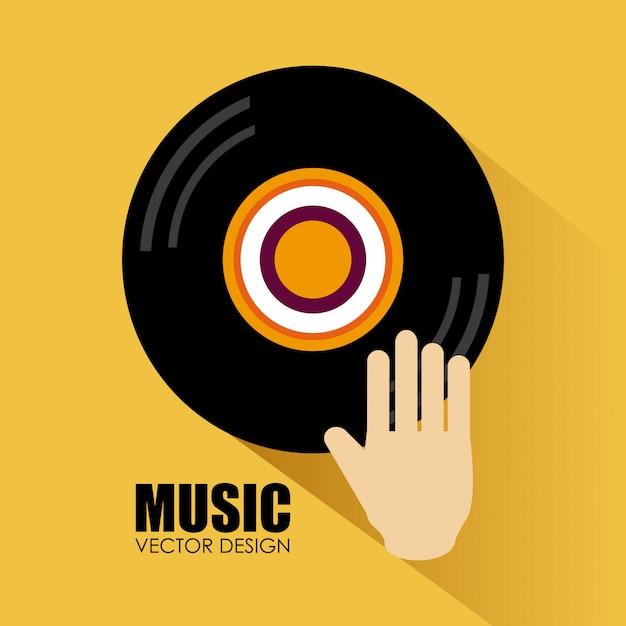 Musikdesign Premium Vektoren