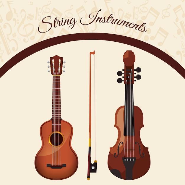 Musikikonenentwurf Premium Vektoren
