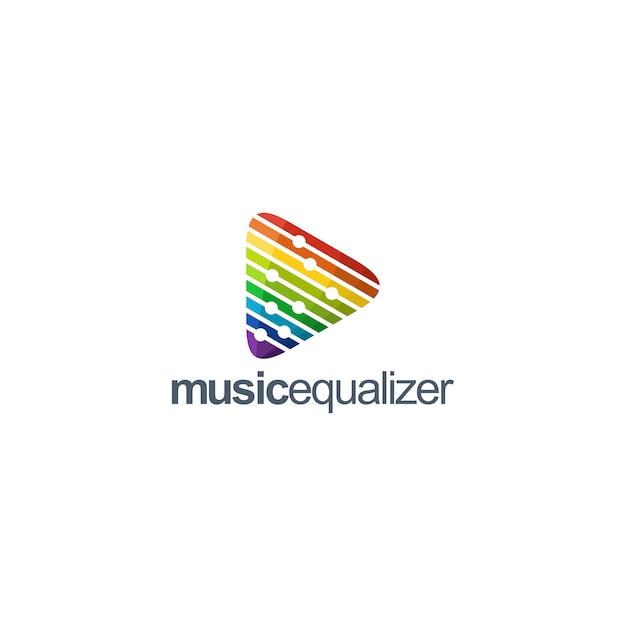 Musiklogo Premium Vektoren