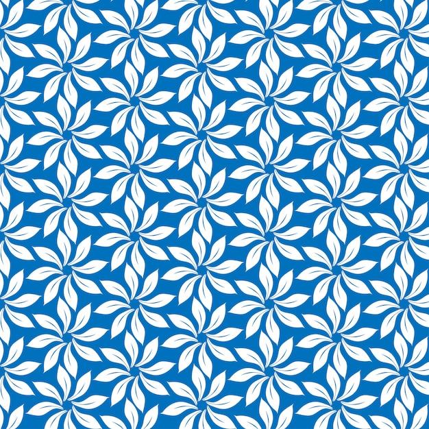 Muster auf blauem hintergrund Premium Vektoren