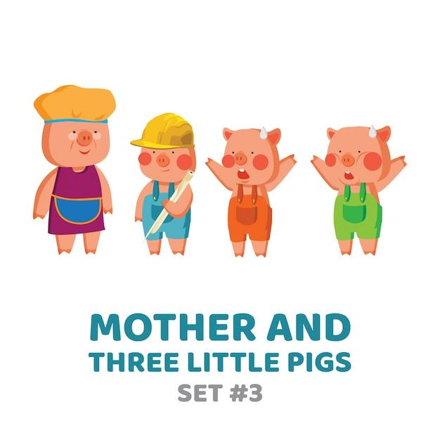 Ziemlich Drei Kleine Schweine Wolf Malvorlagen Ideen - Beispiel ...