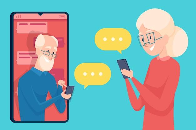 Datierung für über 60