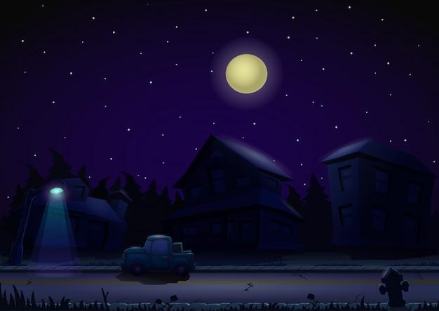 Nacht hintergrund Premium Vektoren