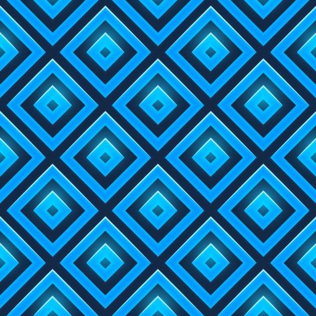 Nahtlose blauen diamanten muster Kostenlosen Vektoren