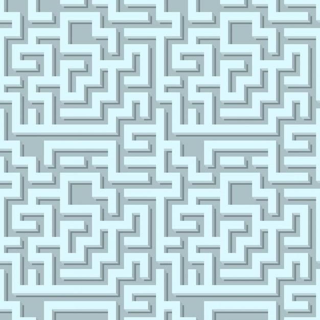 Nahtlose geometrie volumen muster vektor-illustration Kostenlosen Vektoren