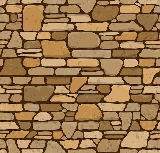 Nahtlose steinbeschaffenheit Premium Vektoren