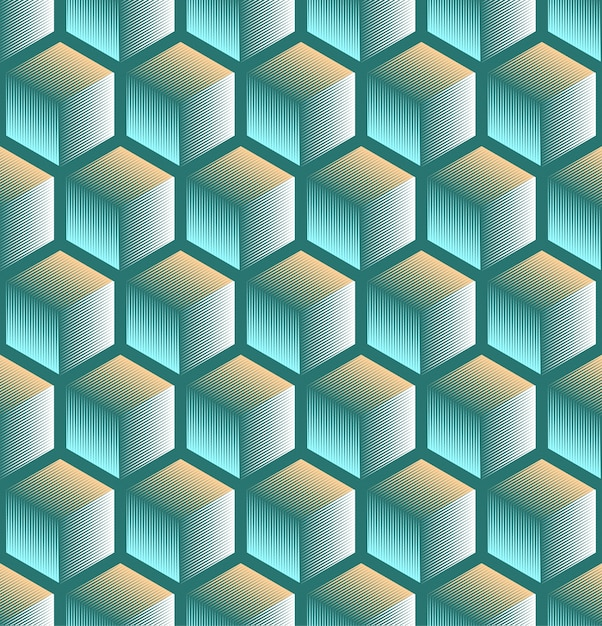 nahtloser abstrakter geometrischer Hintergrund Kostenlose Vektoren