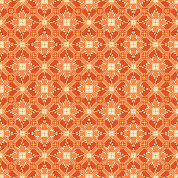 Nahtloses geometrisches arabesque orientalisches muster. Premium Vektoren