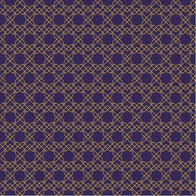 Nahtloses muster. geometrische form im batikstil. hintergrundbild. traditionelles elegantes motiv. Premium Vektoren