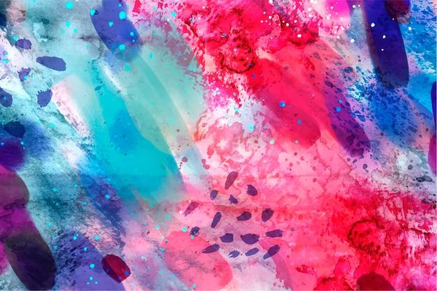 Nahtloses musterkopiefeld des abstrakten aquarells Kostenlosen Vektoren