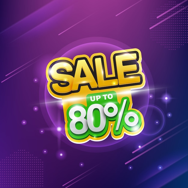 Neon-verkauf, verkauf bis zu 80%, großer rabatt. Premium Vektoren