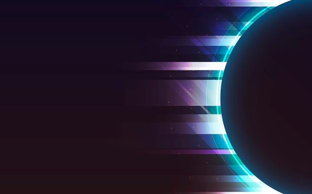 Neonlichthintergrund Kostenlosen Vektoren