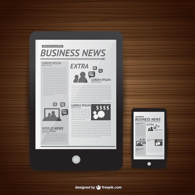 neue medien nachrichten lesen download der kostenlosen vektor. Black Bedroom Furniture Sets. Home Design Ideas