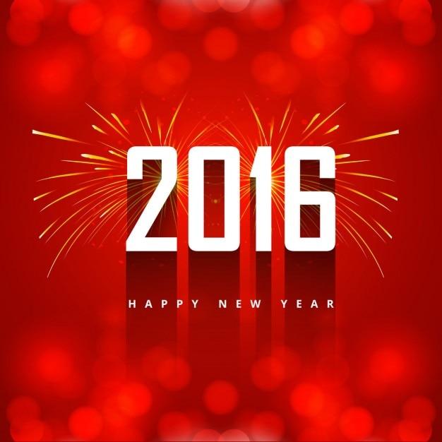 Neues Jahr 2016 Begrüßung mit Feuerwerk | Download der kostenlosen ...