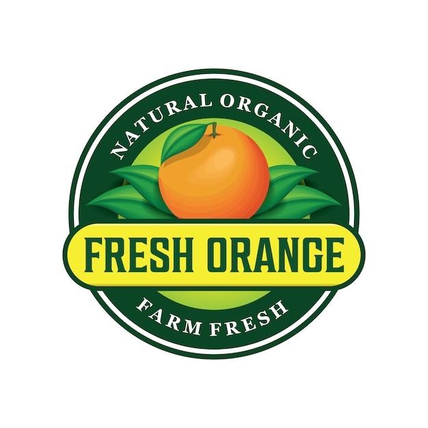 Neues orange logodesign Premium Vektoren