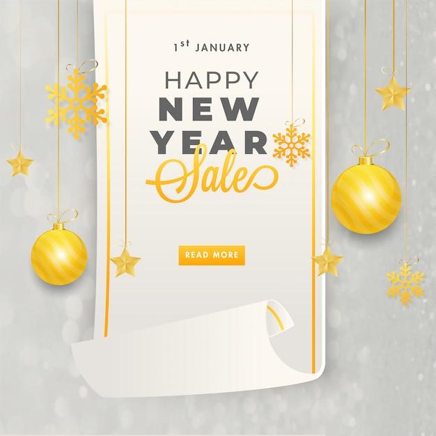 Neujahr hintergrund. Premium Vektoren